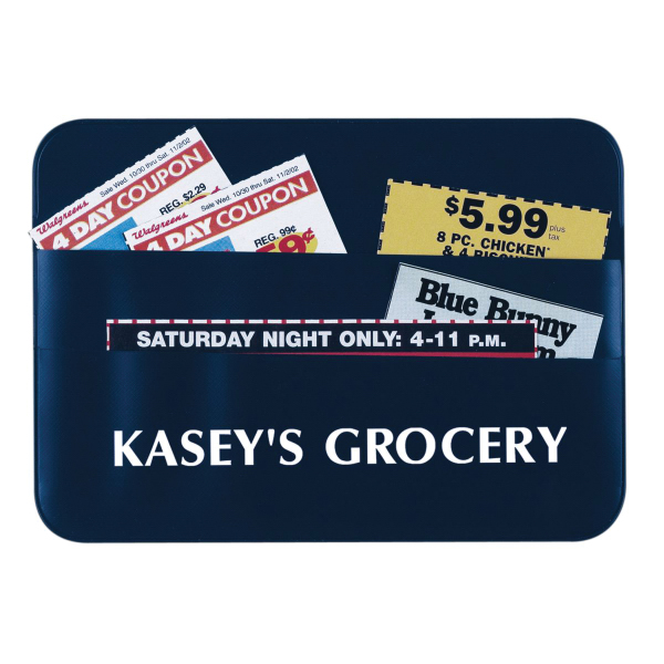 Printed Vinyl Coupon Holder