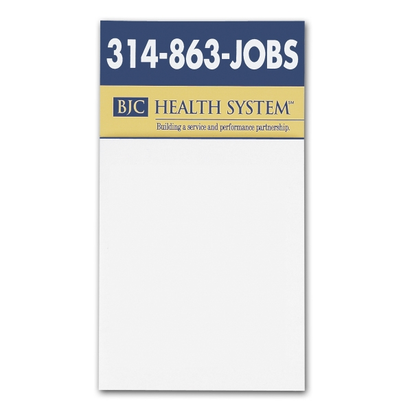 Customized Business Card Magnet with Blank Pad