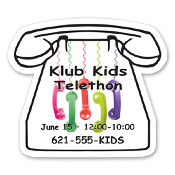 Personalized Medium Telephone Magnet