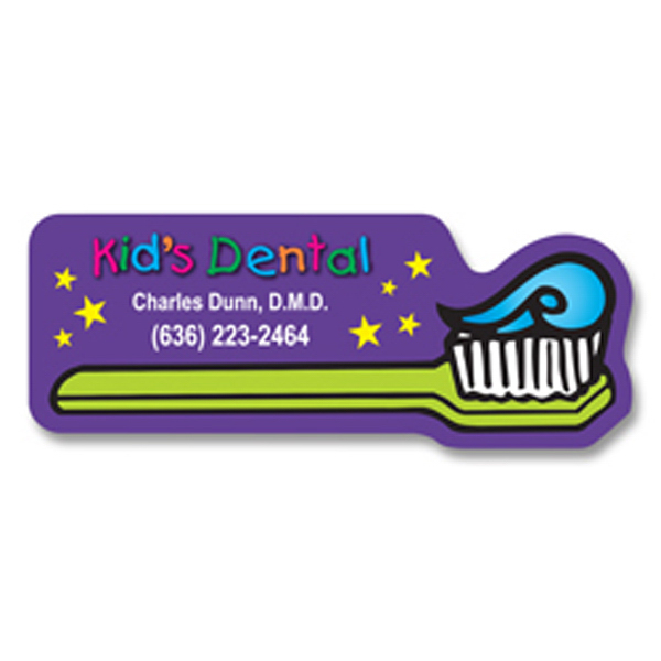 Promotional Toothbrush Magnet