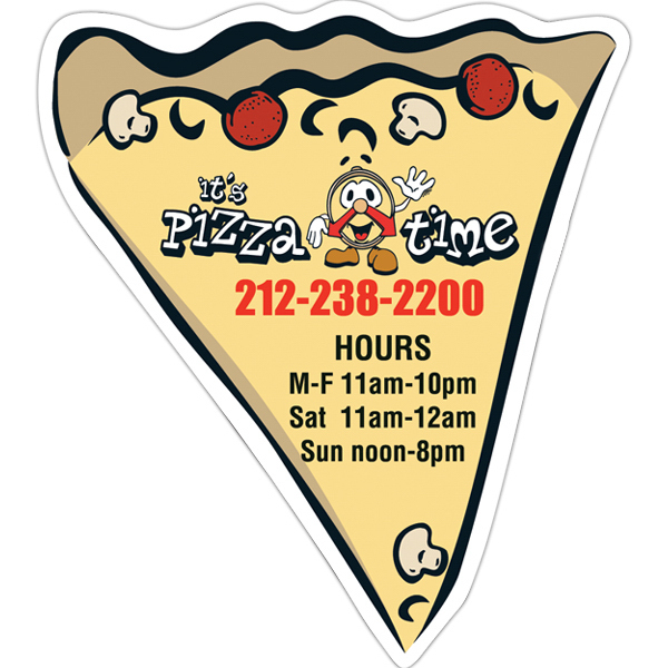 Promotional Pizza Slice Magnet