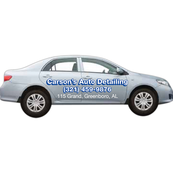 Promotional Sedan Car Shaped Magnet