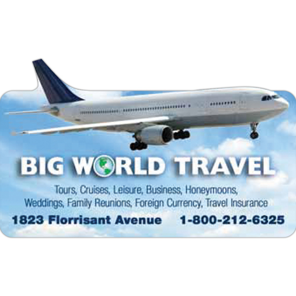 Promotional Airplane Magnet
