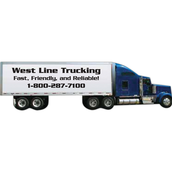 Customized Tractor Trailer Magnet