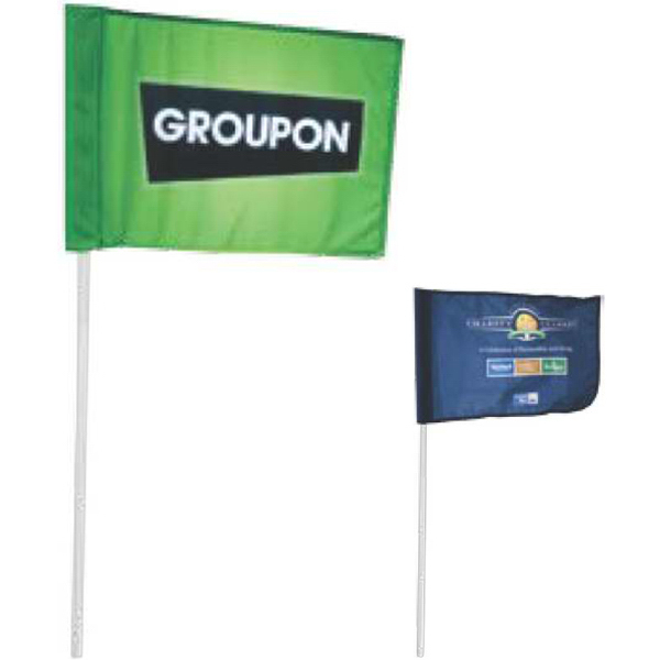 Personalized Single-Sided Golf Flag
