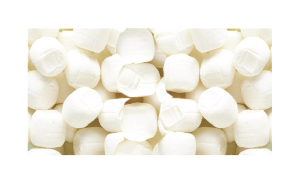 Customized White Buttermints Soft Candy