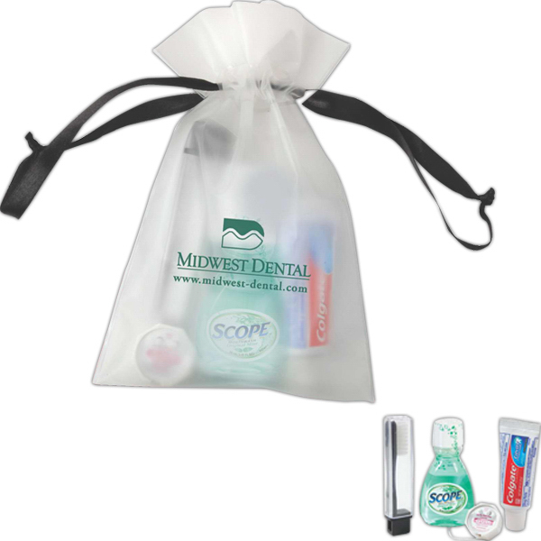 Personalized Keep Smiling dental care kit