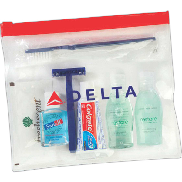 Personalized All you can carry-on amenity kit