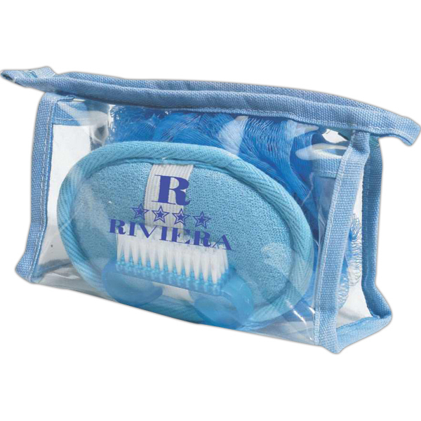 Customized Blue spa set