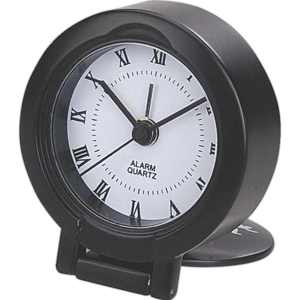 Imprinted Travel alarm clock