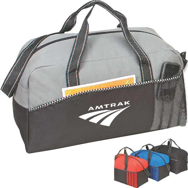 Custom Eagle sports duffel bag