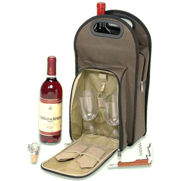 Imprinted Picnic wine cooler set