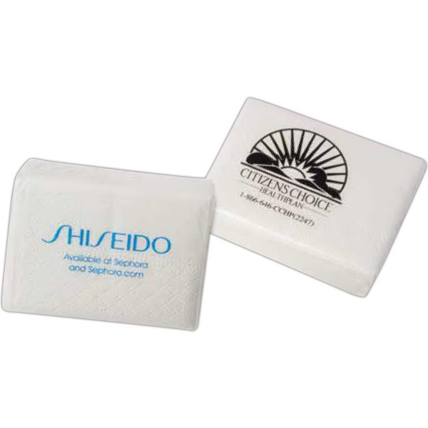 Personalized Small travel tissue pack