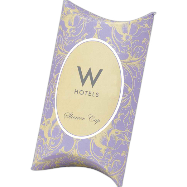 Personalized Shower cap in pillow box