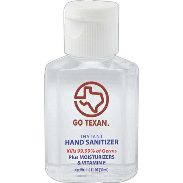 Custom Healthy Hands 1 oz sanitizer