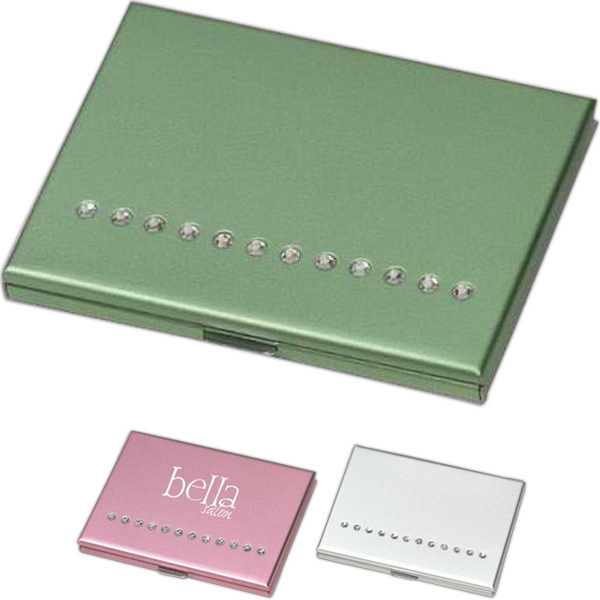 Personalized Elegant compact mirror and brush set