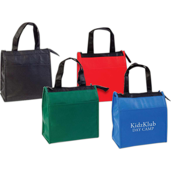 Custom Small hot and cold insulated tote