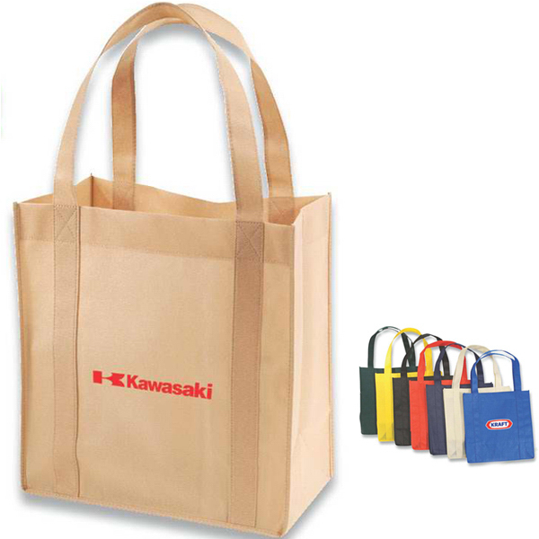 Imprinted Eco shopper tote