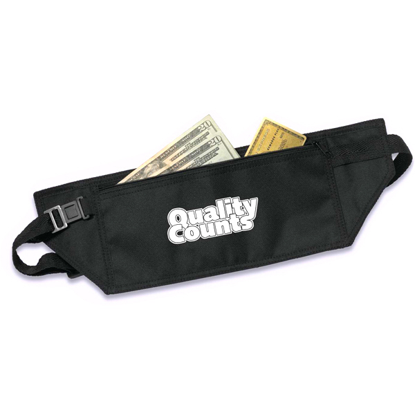 Imprinted Security travel waist belt
