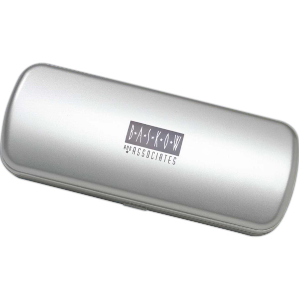 Printed Hard silver amenity container