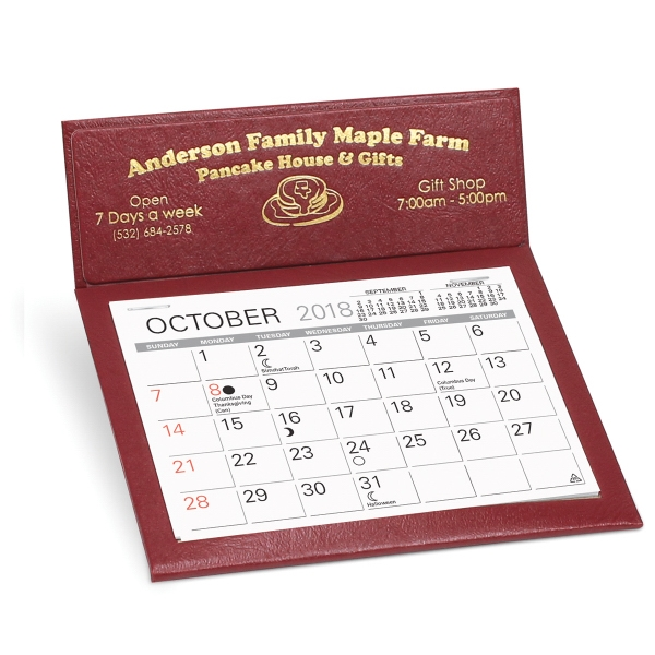 Promotional Citation II desk calendar