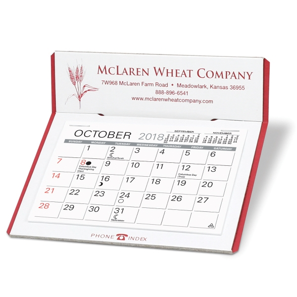 Personalized Prudent Desk Calendar