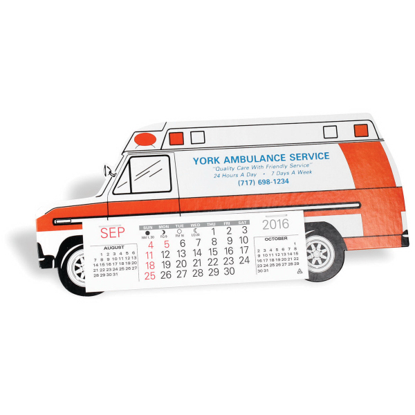 Personalized Ambulance Calendar