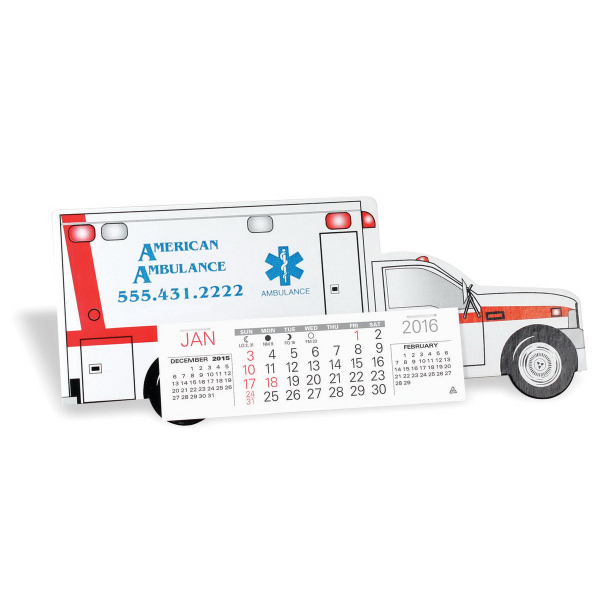 Customized Emergency Squad Ambulance Calendar
