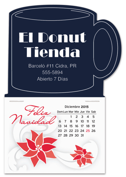 Personalized Easy Stick(TM) Calendar