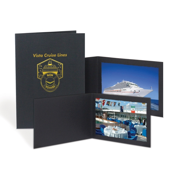 Custom Black Photo Folders