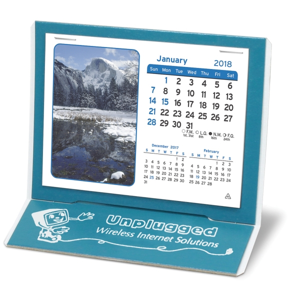 Imprinted The Mantique Calendar