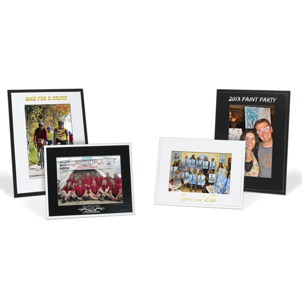 "Imprinted 4"" x 6"" Photo Frame"