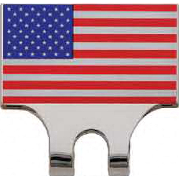 Customized Patriotic Line Slide-On Hat Clip