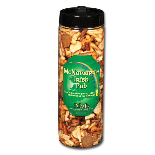 Personalized Snack Barrel - 30 oz. Pub Mix