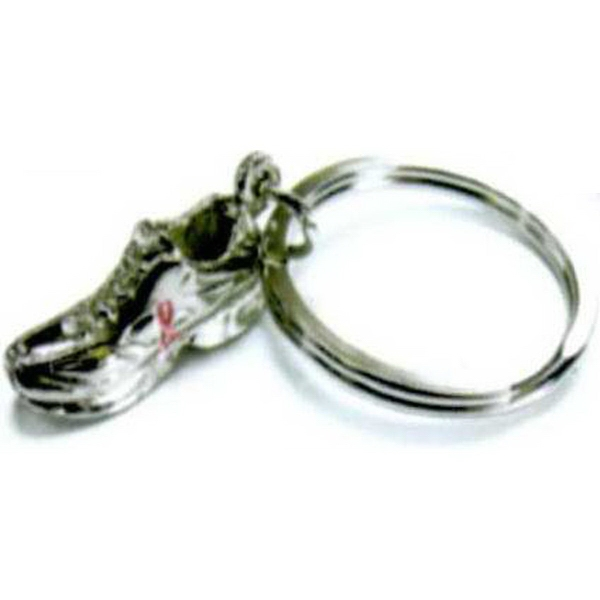 Personalized Shoe Key Ring