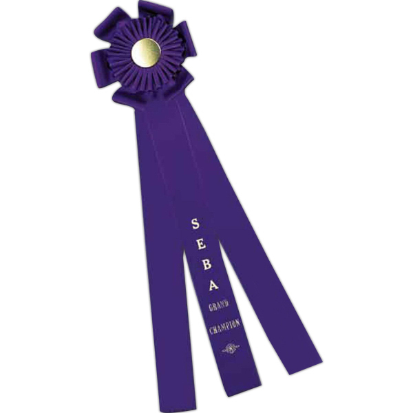 Personalized Custom Rosette Ribbon