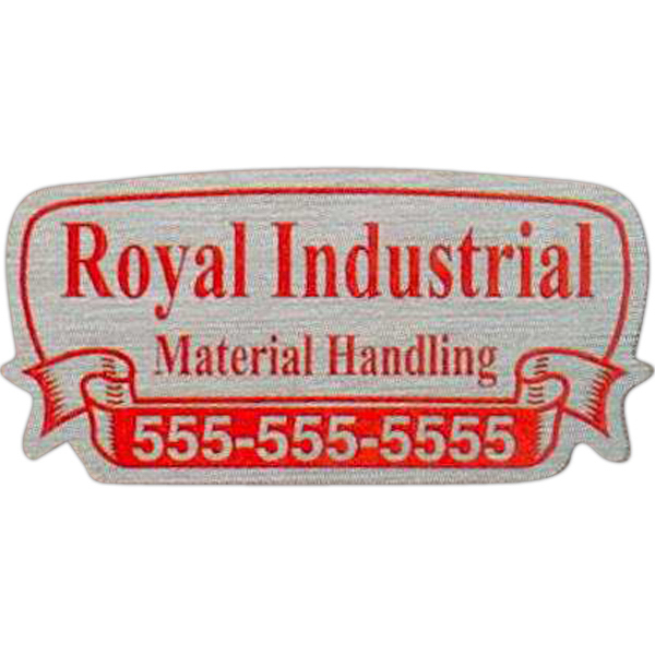Promotional Gold Polyester Identification Decal