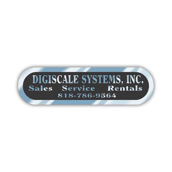 Personalized Chrome Polyester Identification Decal