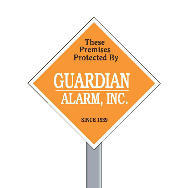 Customized Security Yard Sign