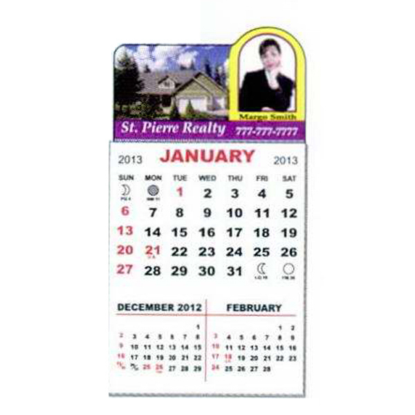 Customized Magnet Calendar Pad