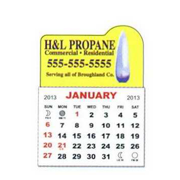 Customized Adhesive Calendar Pad