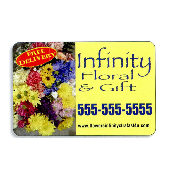 Customized 4-Color Process Magnetic Sign