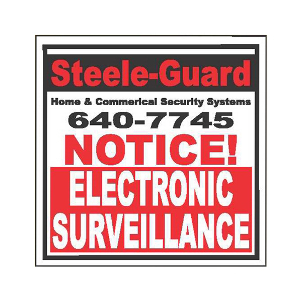 Imprinted Security Decal
