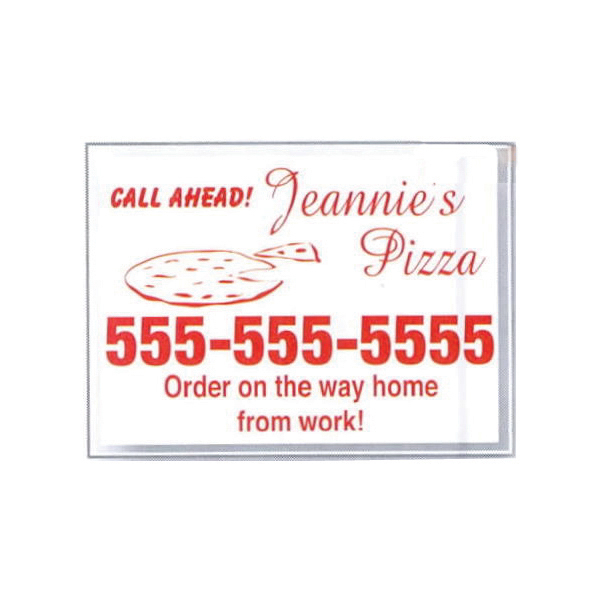 Promotional Static Stick Service Decal