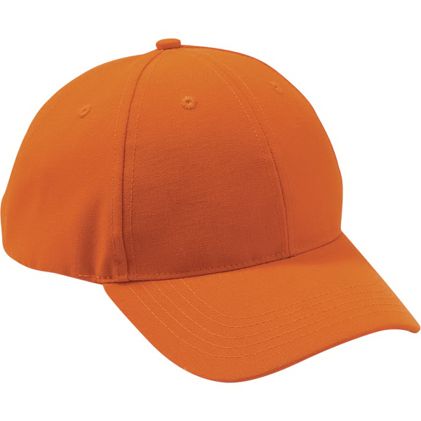 Imprinted Blaze Orange Hunting Cap