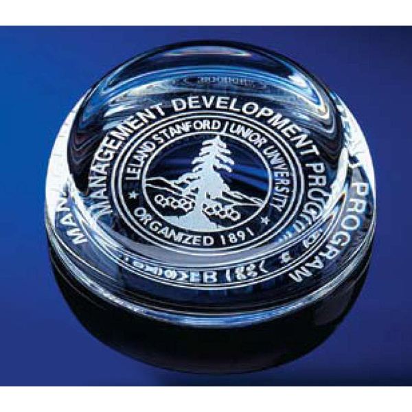 Imprinted Paperweight