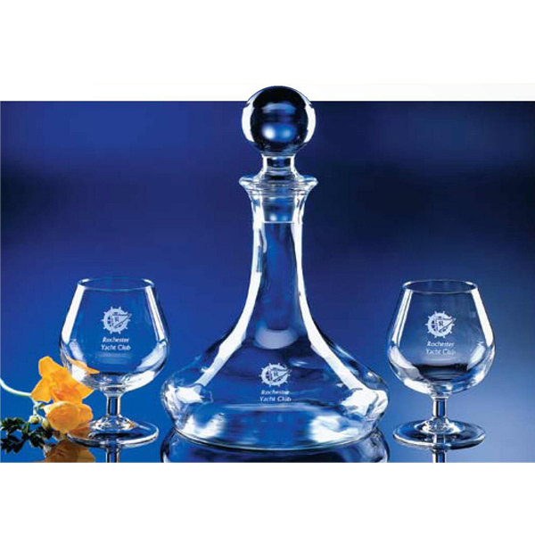 Imprinted Decanter