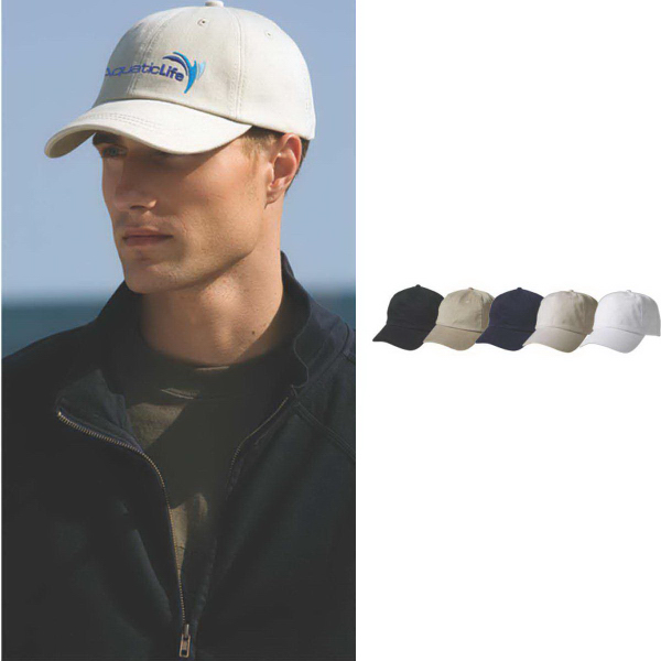 Promotional Solid Brushed Twill Cap