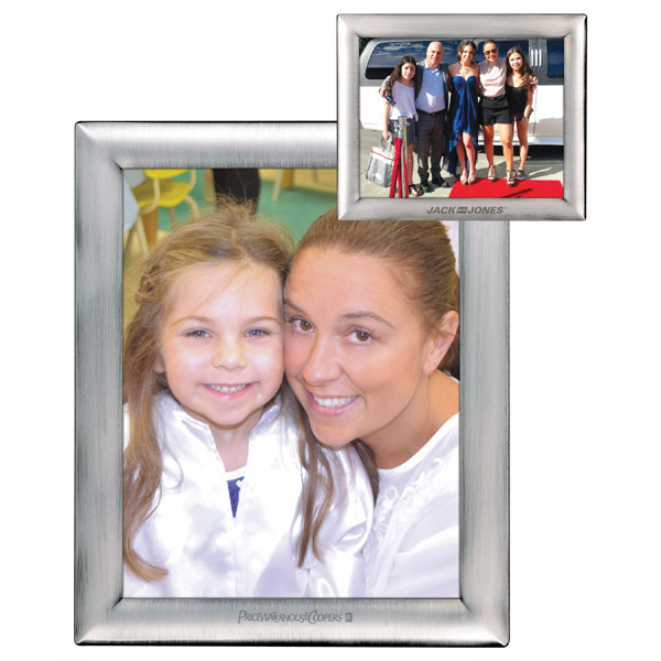 "Customized Metal 8"" x 10"" Photo Frame"