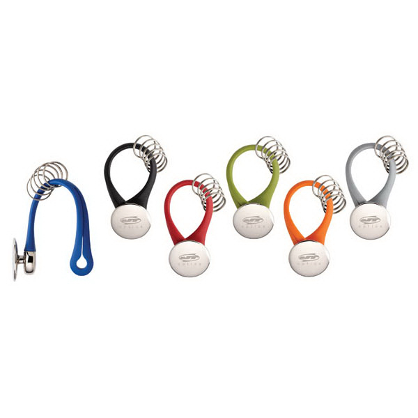 Imprinted Colorplay Multi-Ring Key Ring